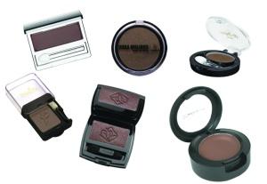 ADC maquiagens- sombra marrom marcas