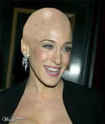 """Sarah Jessica Parker - podiam ter """"dado"""" uma cabeça mais bonita pra ela, né?"""