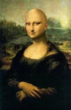 Mona Lisa - a musa do Além do Cabelo!