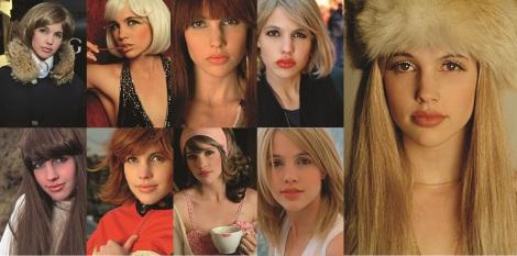 Stella, Platina, Blondie, Sue, Daisy, Pam, Uma, Bebé e Lydia (não nessa ordem)