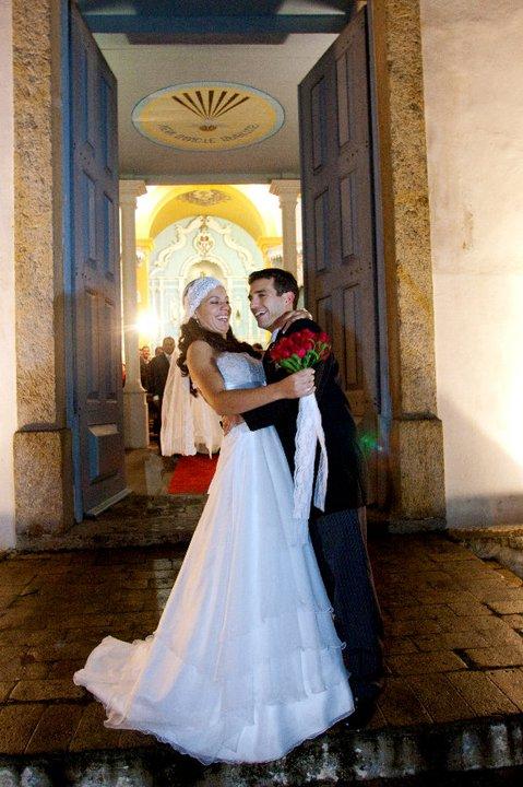 Paulo e Thaís casaram em maio de 2009!