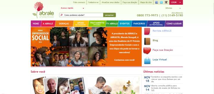 Acesse http://www.abrale.org.br/