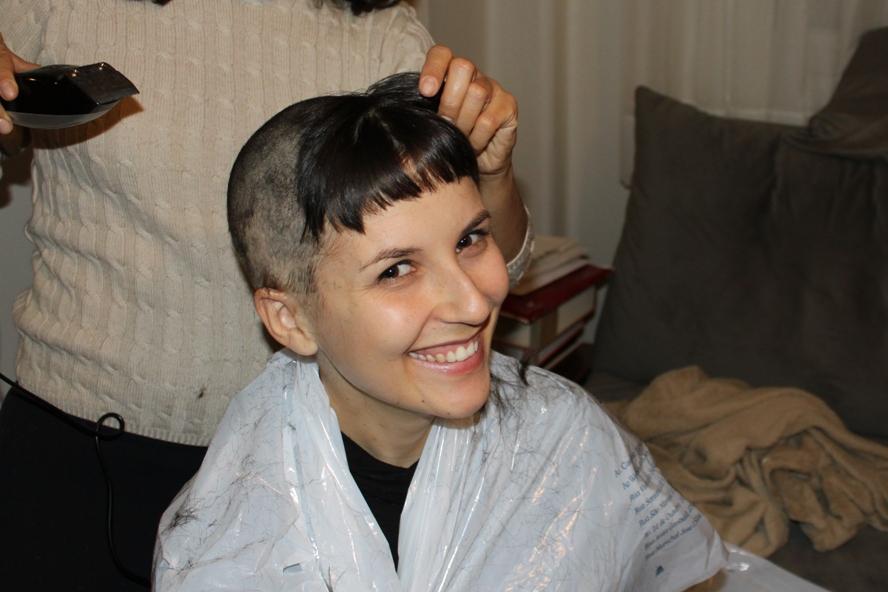 Ah, mas esse penteado ficou tão bonito....vamos fotografar!