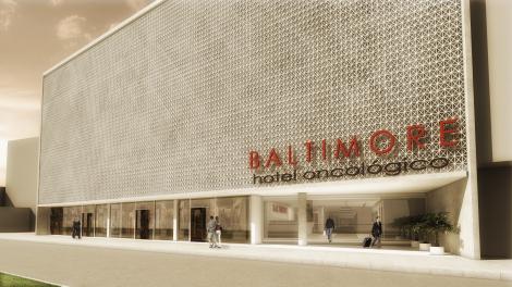 Projeto pronto! Baltimore, Hotel Oncológico!
