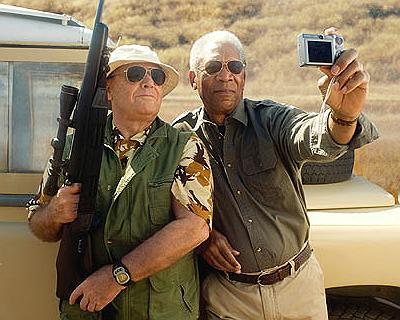 Desejo 01: tirar uma selfie com o Jack Nicholson segurando um rifle!
