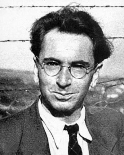 Essa é a foto mais jovem que achei do Viktor Frankl, provavelmente uns anos depois do campo de concentração!