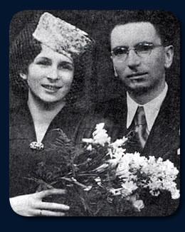 Frankl e sua esposa.