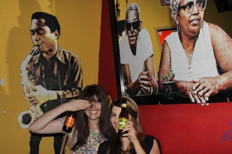 Tomamos uma cerveja com o Cartola!