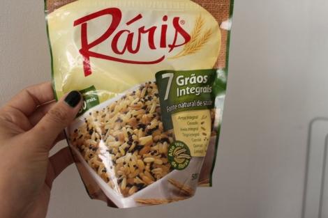 Eu usei o Ráris porque já tinha em casa - mas dá pra misturar os grãos em casa mesmo!