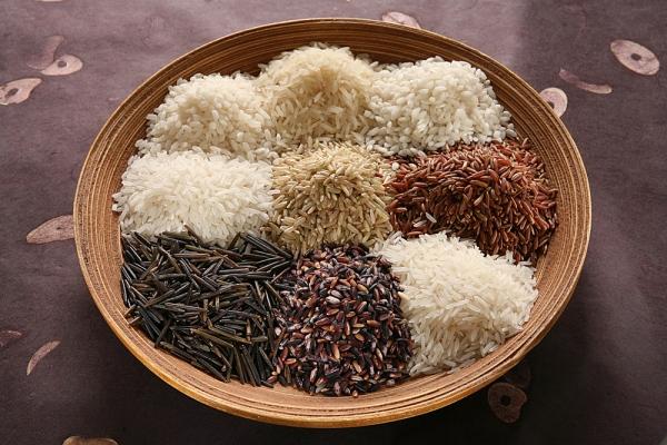 Existem vários tipos de arroz!